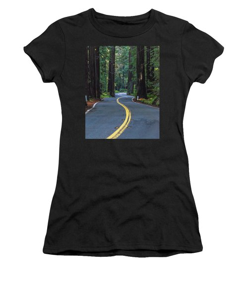 Avenue Of The Giants Women's T-Shirt