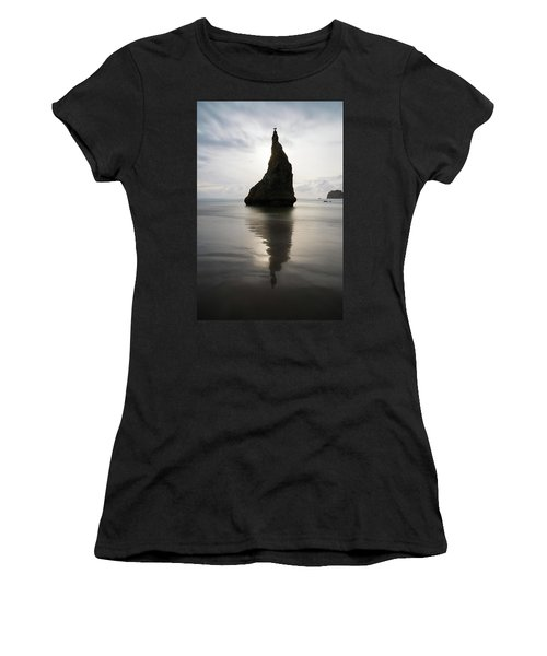 Women's T-Shirt (Athletic Fit) featuring the photograph Balance by Dustin LeFevre
