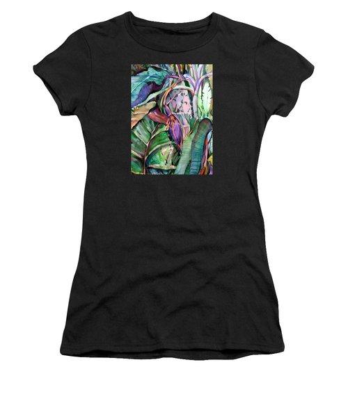 Banana Pod Women's T-Shirt (Athletic Fit)
