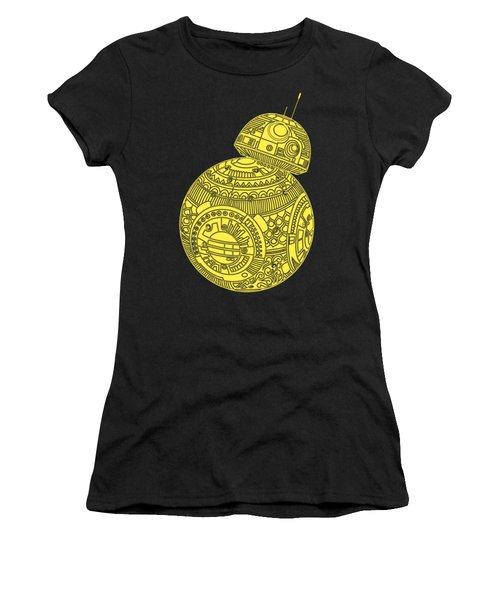 Bb8 Droid - Star Wars Art, Yellow Women's T-Shirt (Athletic Fit)