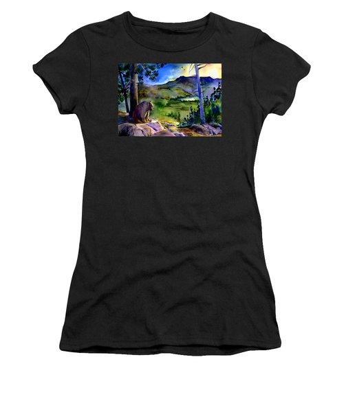 Bearly Light At Castle Peak Women's T-Shirt