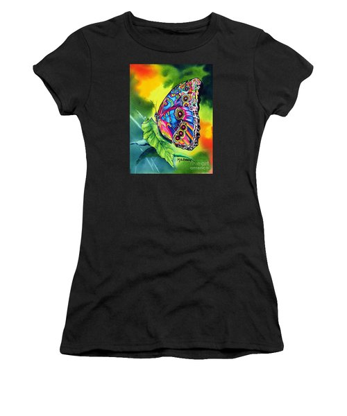 Beatrice Butterfly Women's T-Shirt (Athletic Fit)