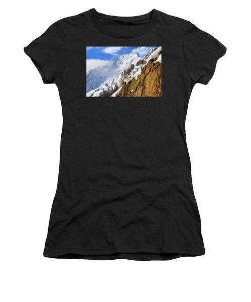 Big Cotonwood Canyon Women's T-Shirt (Athletic Fit)