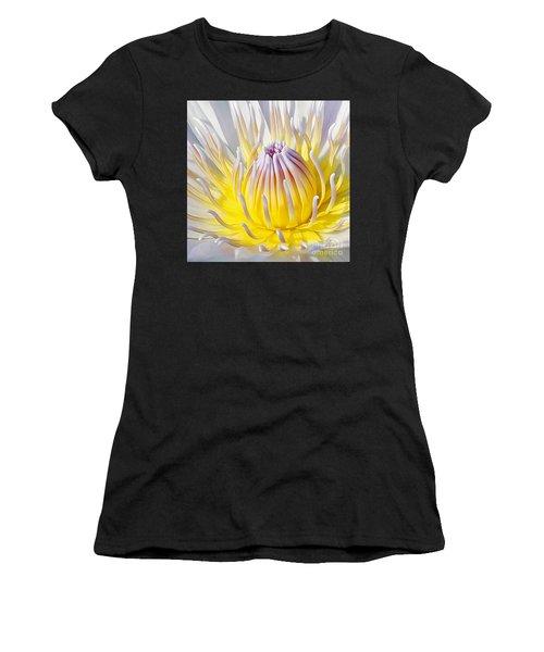 Blue Water Lily Women's T-Shirt