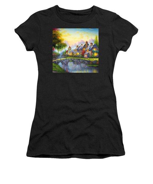 Bridge Over Troubled Waters Women's T-Shirt