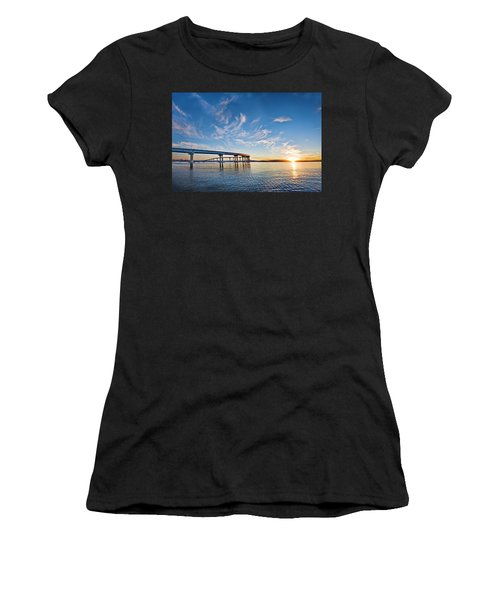 Bridge Sunrise Women's T-Shirt (Athletic Fit)