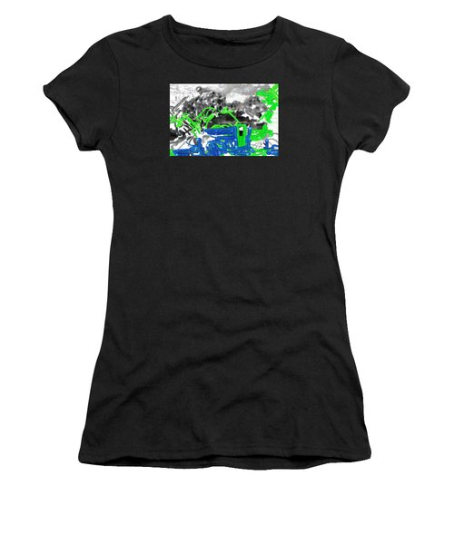 Broken Homes Women's T-Shirt (Athletic Fit)