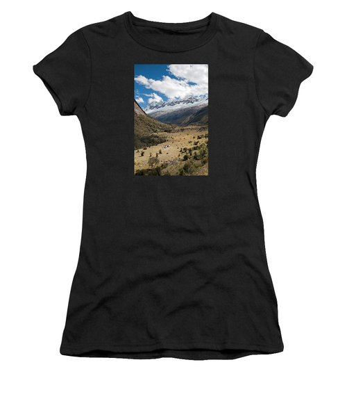 Camping In Huaripampa Valley Women's T-Shirt