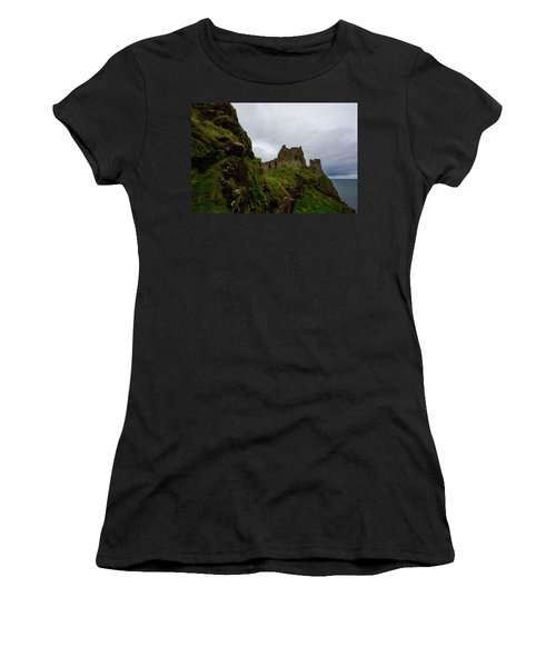 Castle By The Sea Women's T-Shirt (Athletic Fit)