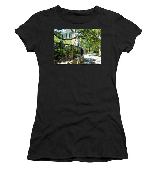Charming Charleston Women's T-Shirt (Junior Cut) by Kay Gilley