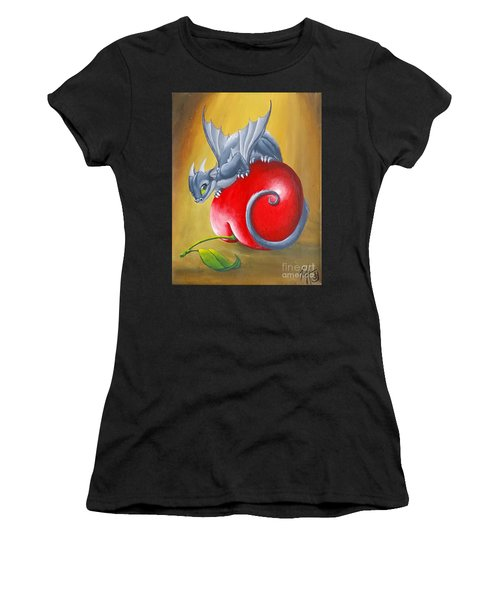 Cherry Dragon Women's T-Shirt (Athletic Fit)
