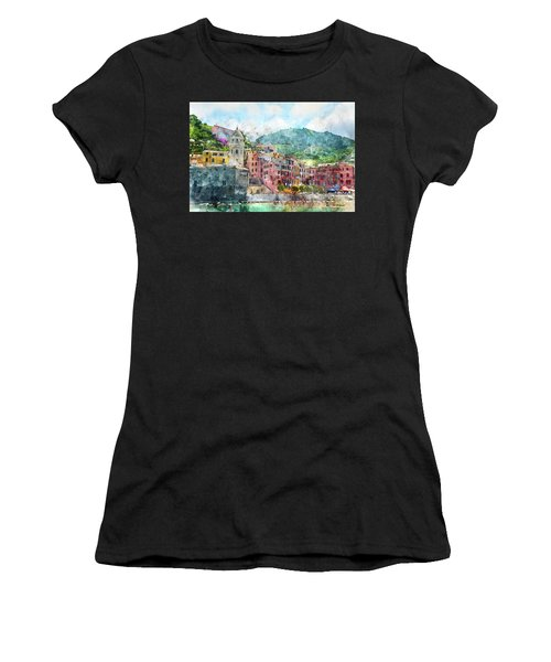 Cinque Terre Italy Women's T-Shirt