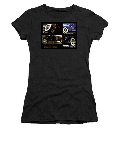 Classic Car Wheels Women's T-Shirt