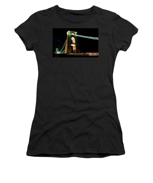 Clifton Suspension Bridge, Bristol. Women's T-Shirt