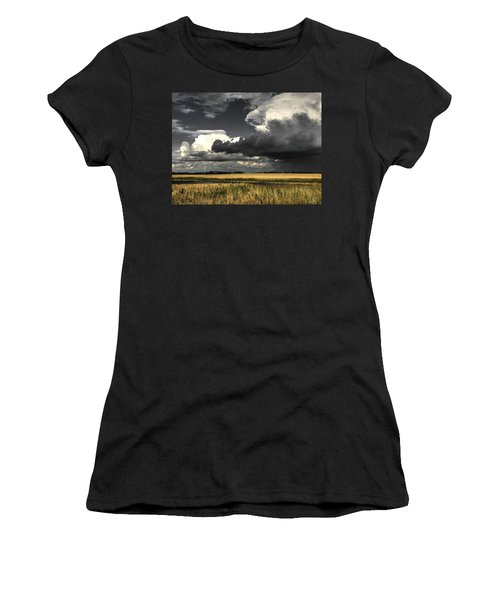 Cloud Women's T-Shirt (Athletic Fit)
