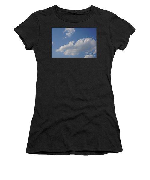 Clouds 15 Women's T-Shirt (Athletic Fit)