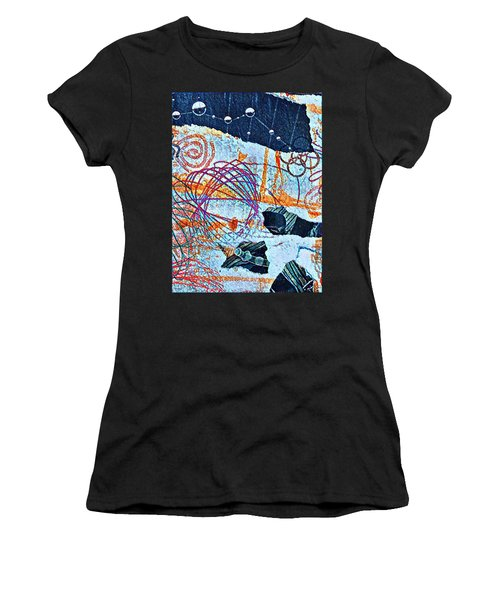 Collage Details Women's T-Shirt (Athletic Fit)
