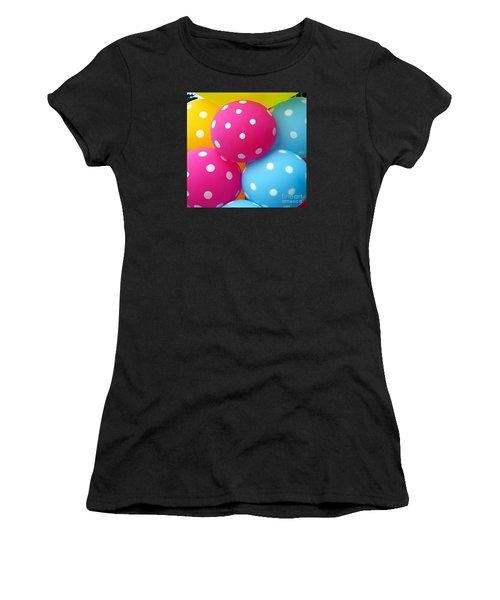 Colorful Balloons Make A Happy Mood Women's T-Shirt