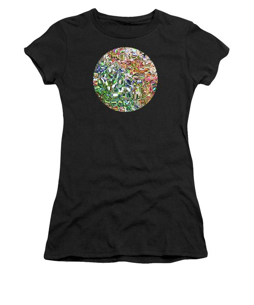 Colorful Shapes Pattern Women's T-Shirt