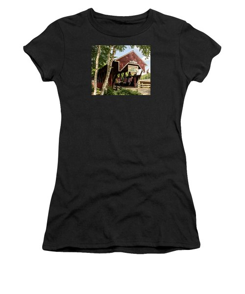 Covered Bridge Gift Shoppe Women's T-Shirt (Athletic Fit)