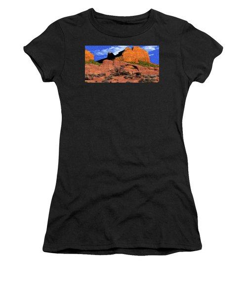 Cowboy Sedona Ver 1 Women's T-Shirt (Athletic Fit)