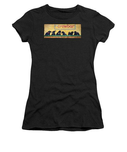 Crowbar Women's T-Shirt (Athletic Fit)