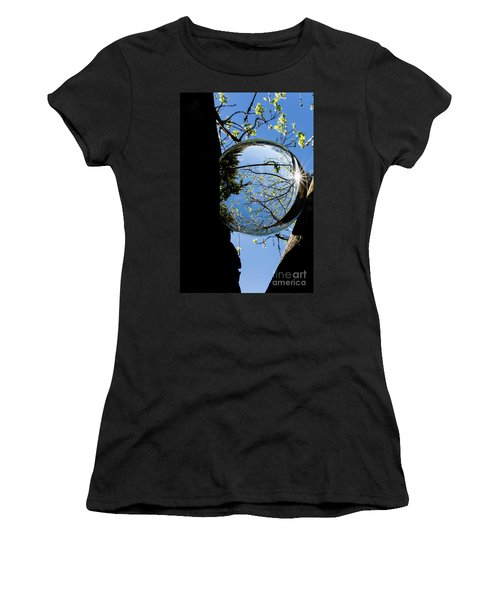 Crystal Reflection Women's T-Shirt (Athletic Fit)