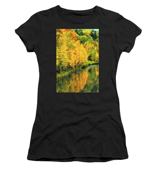 Cushman Lake  Women's T-Shirt