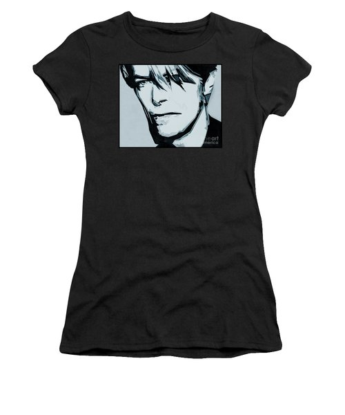 Born Under A Stone Born With A Single Voice. Bowie Women's T-Shirt
