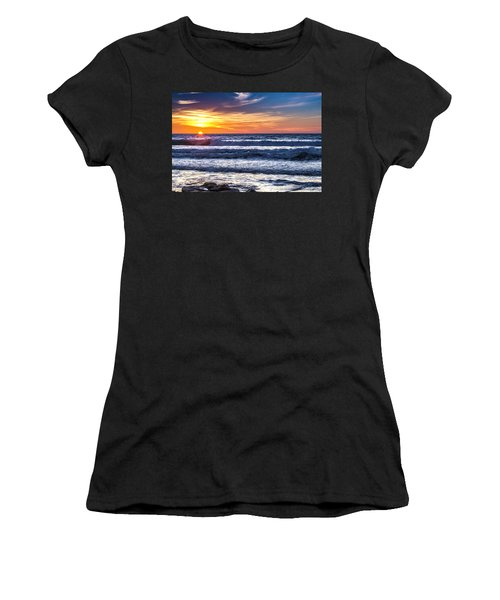 Sunset - Del Mar, California View 1 Women's T-Shirt (Athletic Fit)