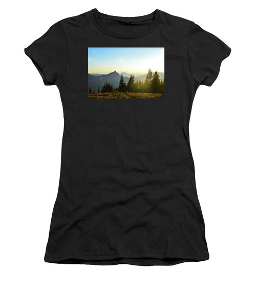 Dickerman Sunset Women's T-Shirt (Athletic Fit)