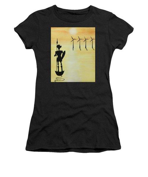Don Quixote Women's T-Shirt (Athletic Fit)