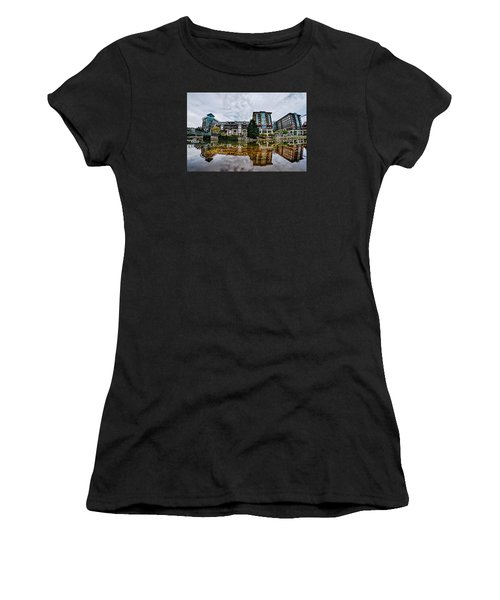 Downtown Of Greenville South Carolina Around Falls Park Women's T-Shirt