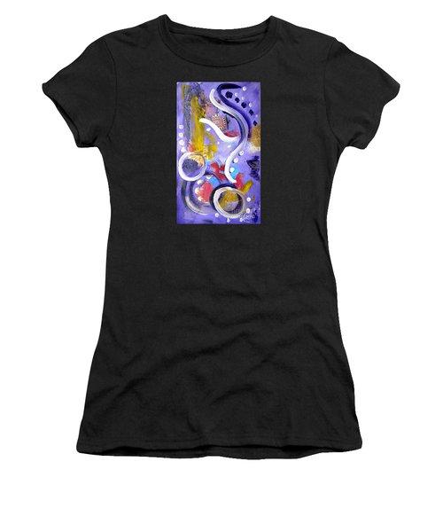 Elephant Dance Women's T-Shirt (Athletic Fit)