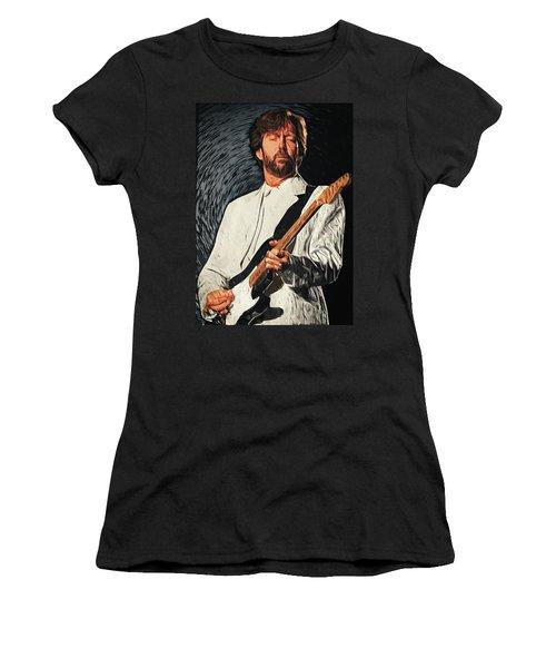 Eric Clapton Women's T-Shirt (Athletic Fit)