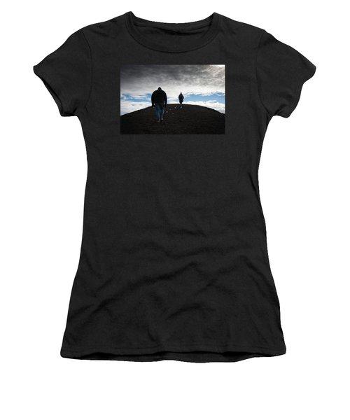 Etna, Red Mount Crater Women's T-Shirt