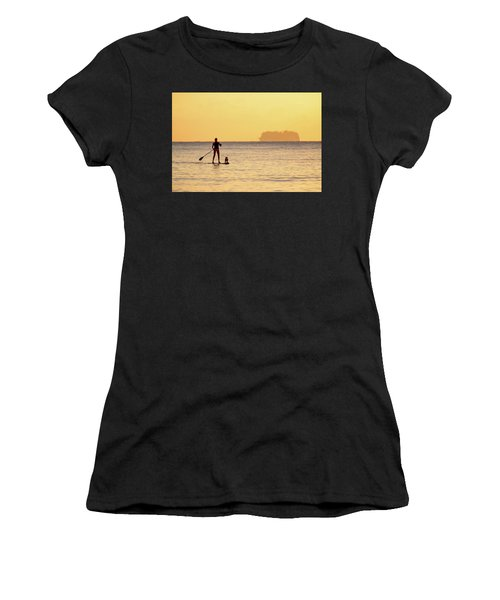 Evening Paddle Women's T-Shirt (Athletic Fit)