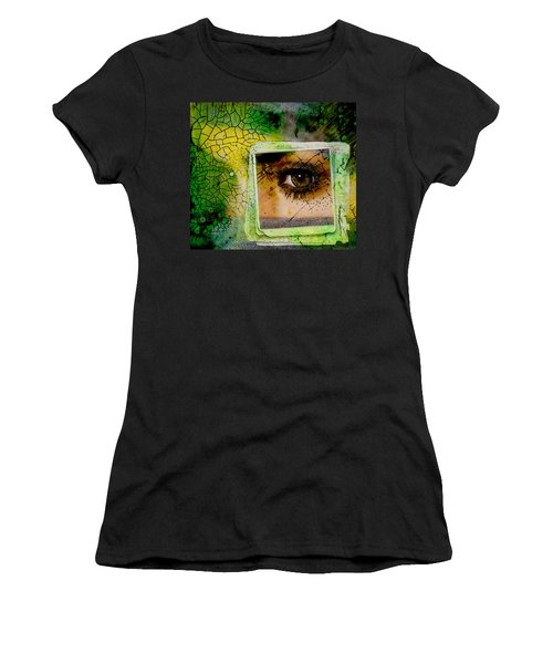 Eye, Me, Mine Women's T-Shirt (Athletic Fit)