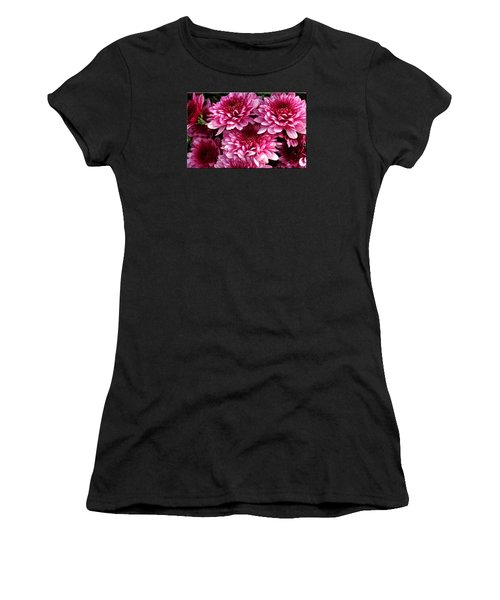 Fall Flowers Women's T-Shirt (Athletic Fit)
