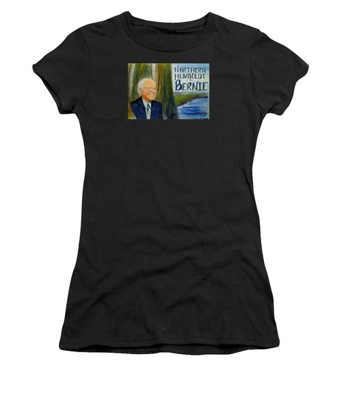 Feel The Bern Women's T-Shirt (Athletic Fit)