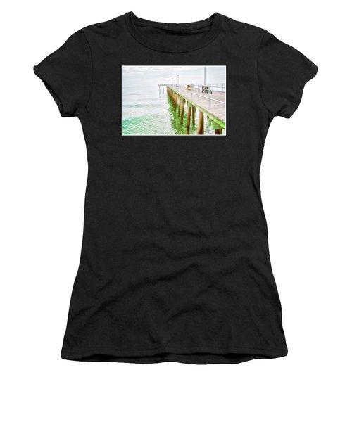 Fishing Pier, Margate, New Jersey Women's T-Shirt