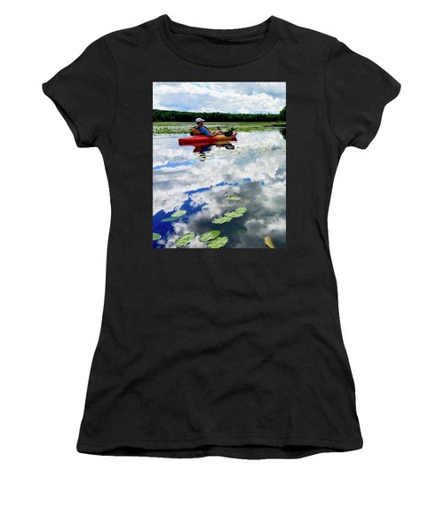 Floating In The Sky Women's T-Shirt