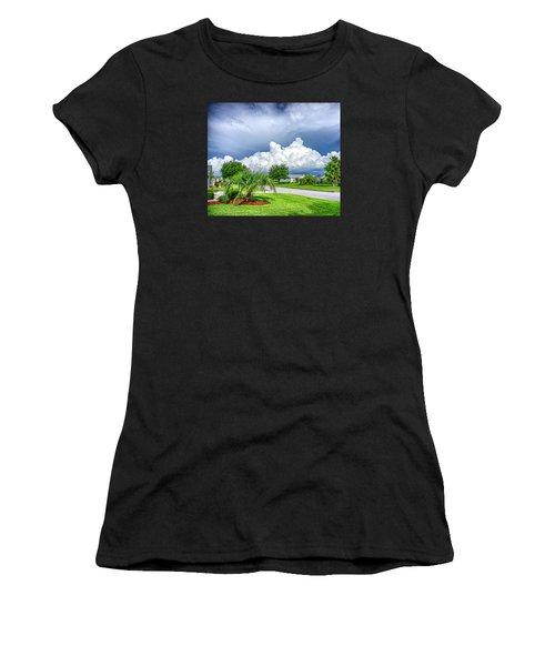 Florida Sky Women's T-Shirt (Athletic Fit)