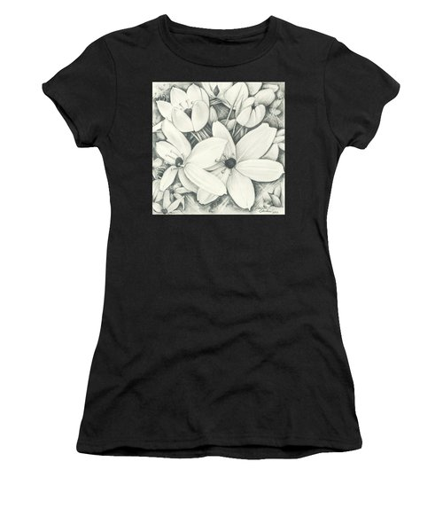 Flowers Pencil Women's T-Shirt
