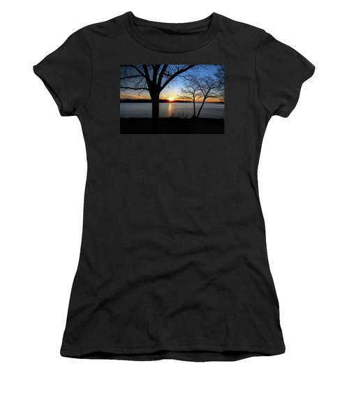 Ford Lake Sunset Women's T-Shirt