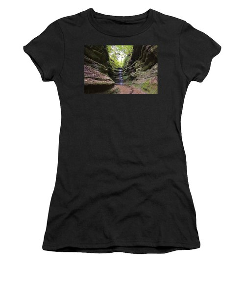 French Canyon Women's T-Shirt (Athletic Fit)