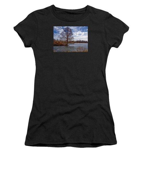 Frozen Lake Women's T-Shirt