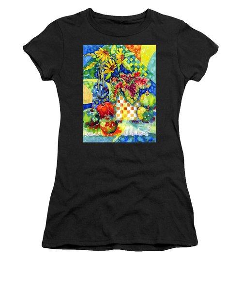 Fruit And Coleus Women's T-Shirt (Athletic Fit)