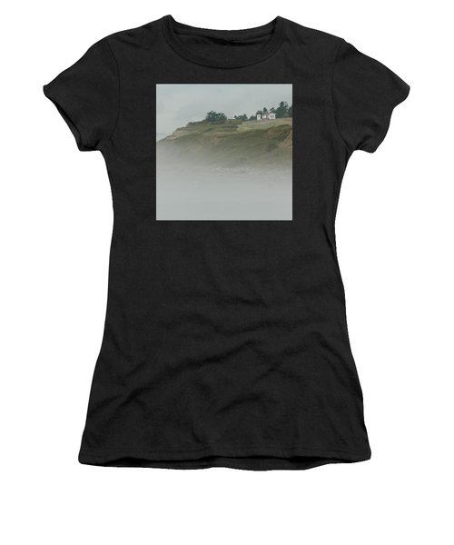 Ft. Casey Lighthouse Women's T-Shirt (Athletic Fit)