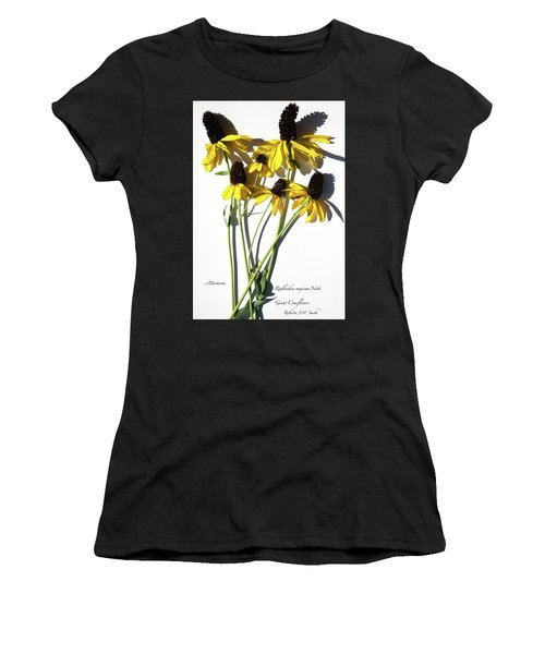 Giant Coneflower Women's T-Shirt (Athletic Fit)
